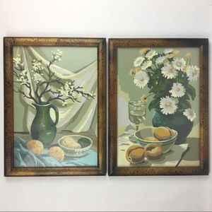 Vintage Still Life Paint By Number Set 1975